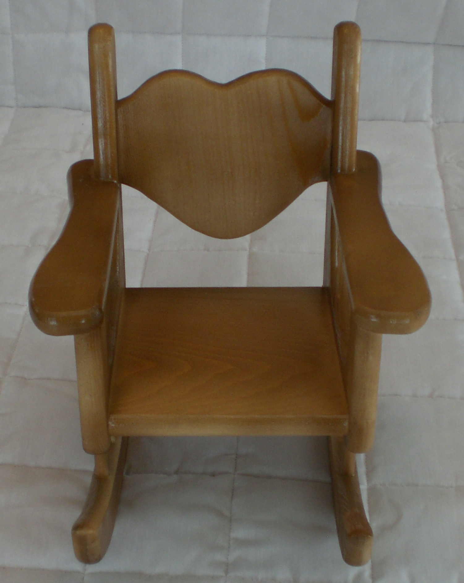 Early American Rocking Chair for American Girl size doll