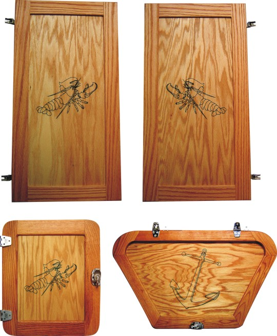 Cabinet Doors Pierce Point Laser