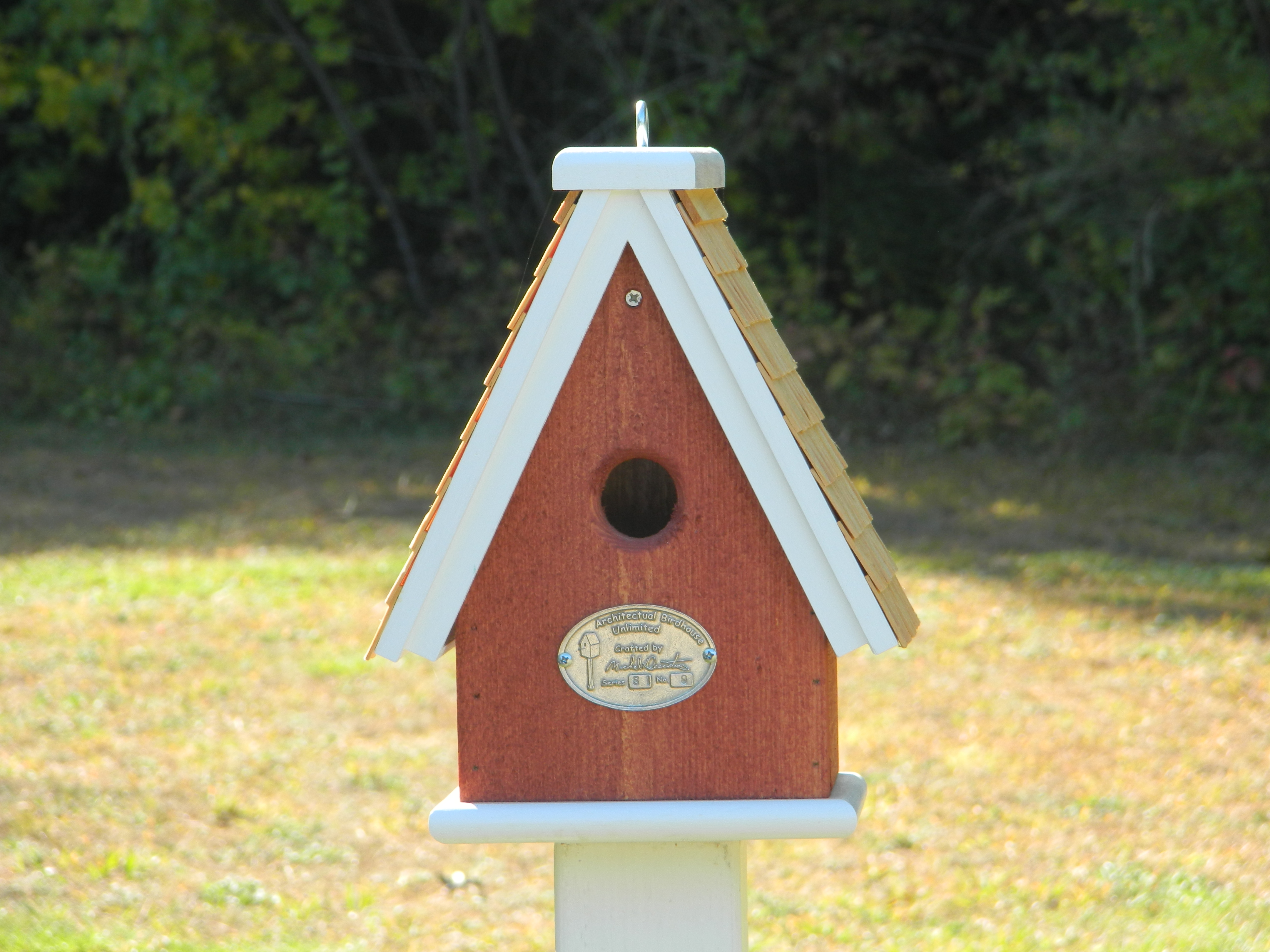 Swiss style single cluster architectural birdhouses for Bird house styles