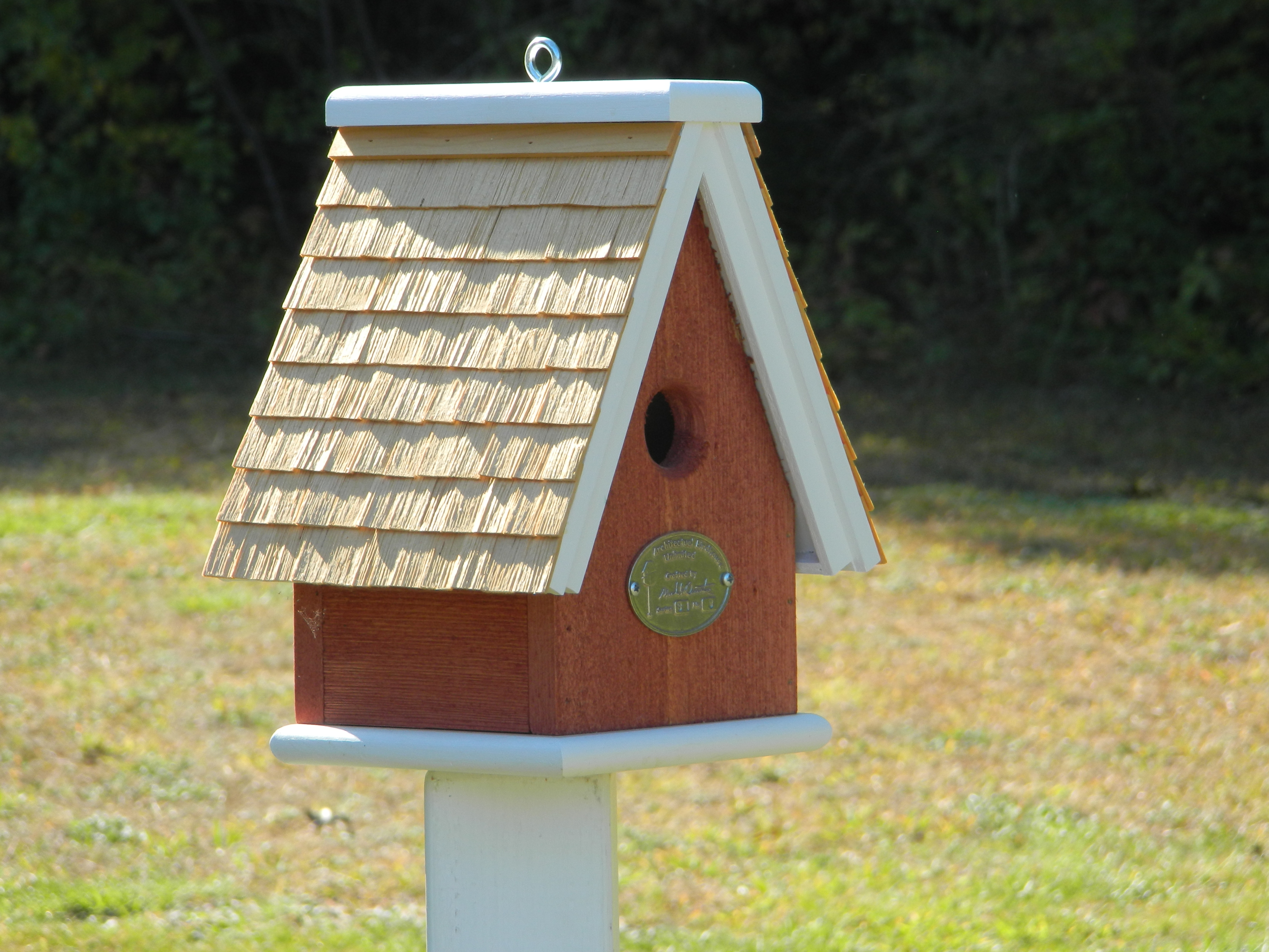 Swiss Style Single Cluster Architectural Birdhouses