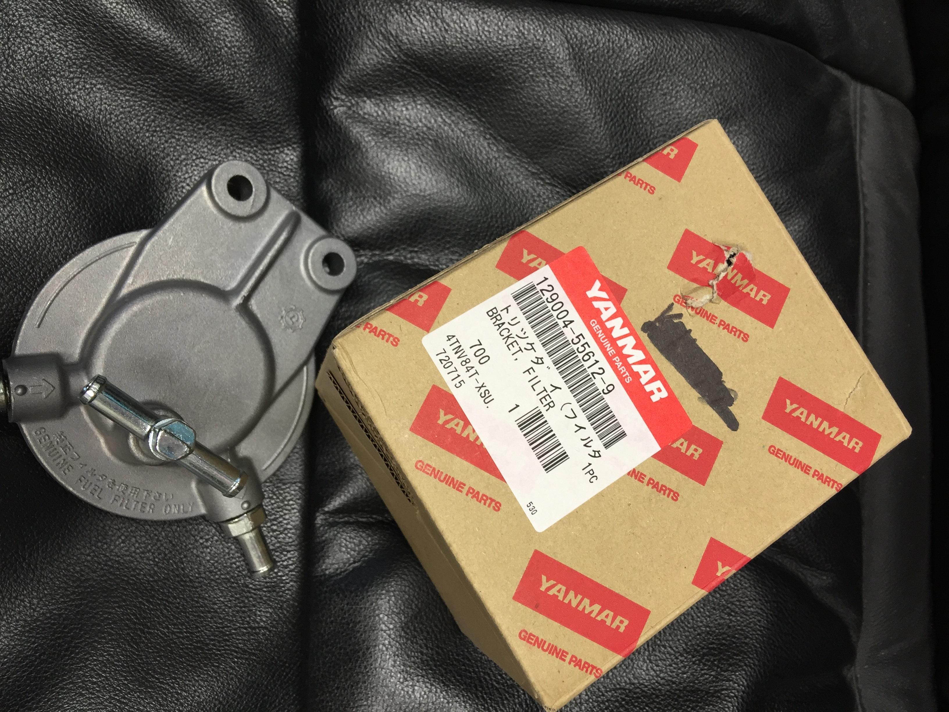 Fuel Filter Bracket 129004 55612 J Way Enterprises Kubota Mount