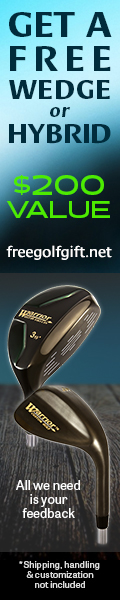 get a free wedge or hybrid