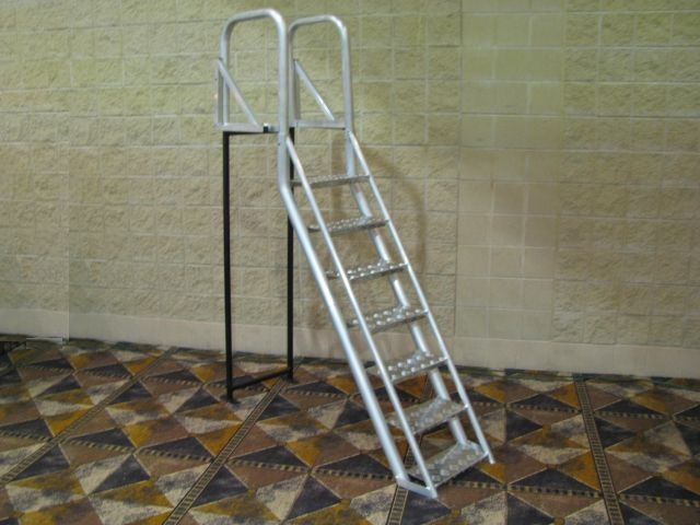 7 Step Ladder Special Shop Our Products Aqua Stairs