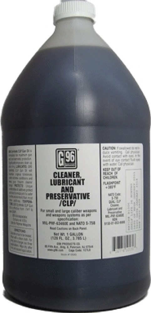 Synthetic Clp Gun Oil 1 Gallon Bottle G96 Products Inc