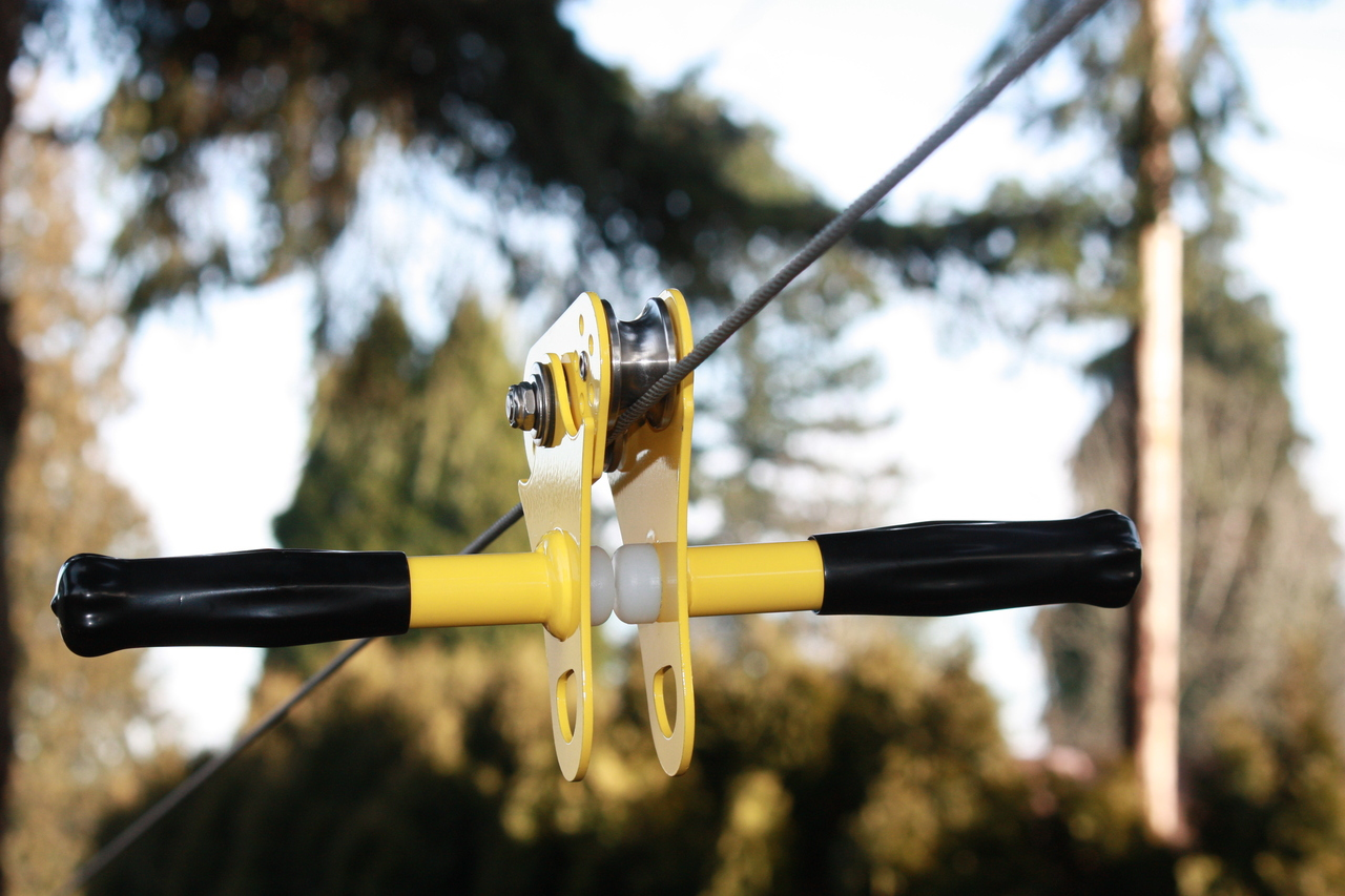 Cable Zip Line : The hornet zip line kit with big boy seat all fun things