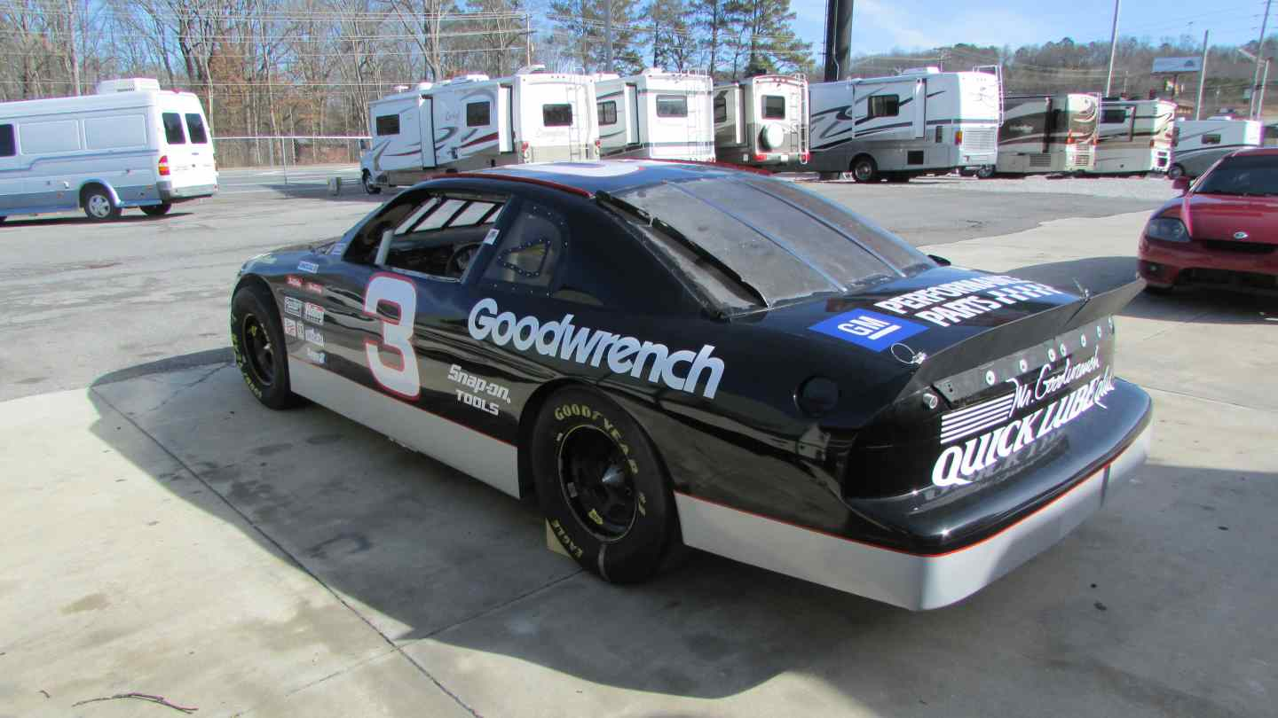 Race Used Dale Earnhardt Sr Rolling Chassis Nascar Race Car , Rare ...