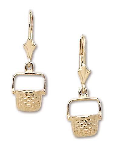 Nantucket Basket Dangle Earrings