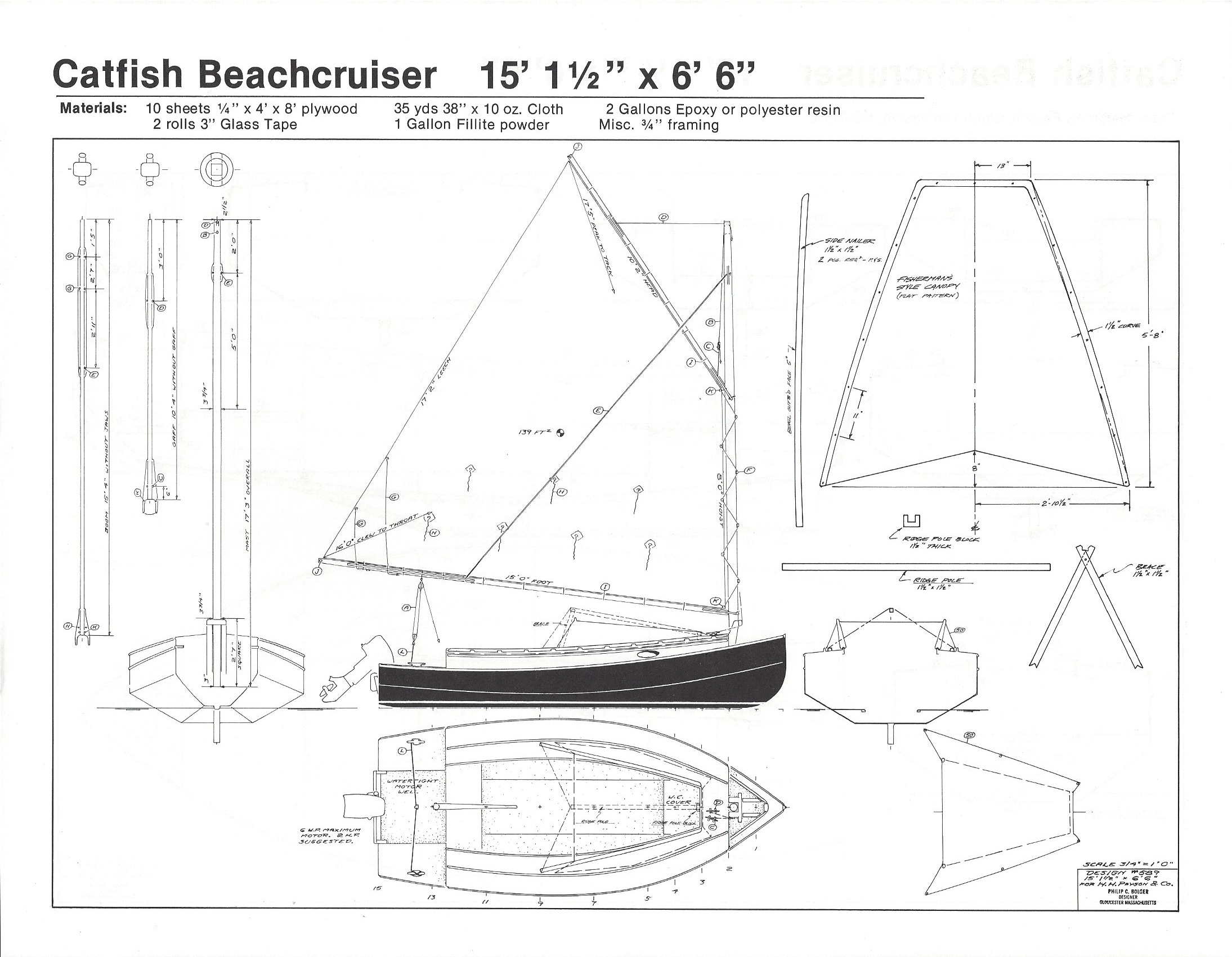 Dynamite Payson Boat Plans : Catfish beachcrusier quot  h payson and