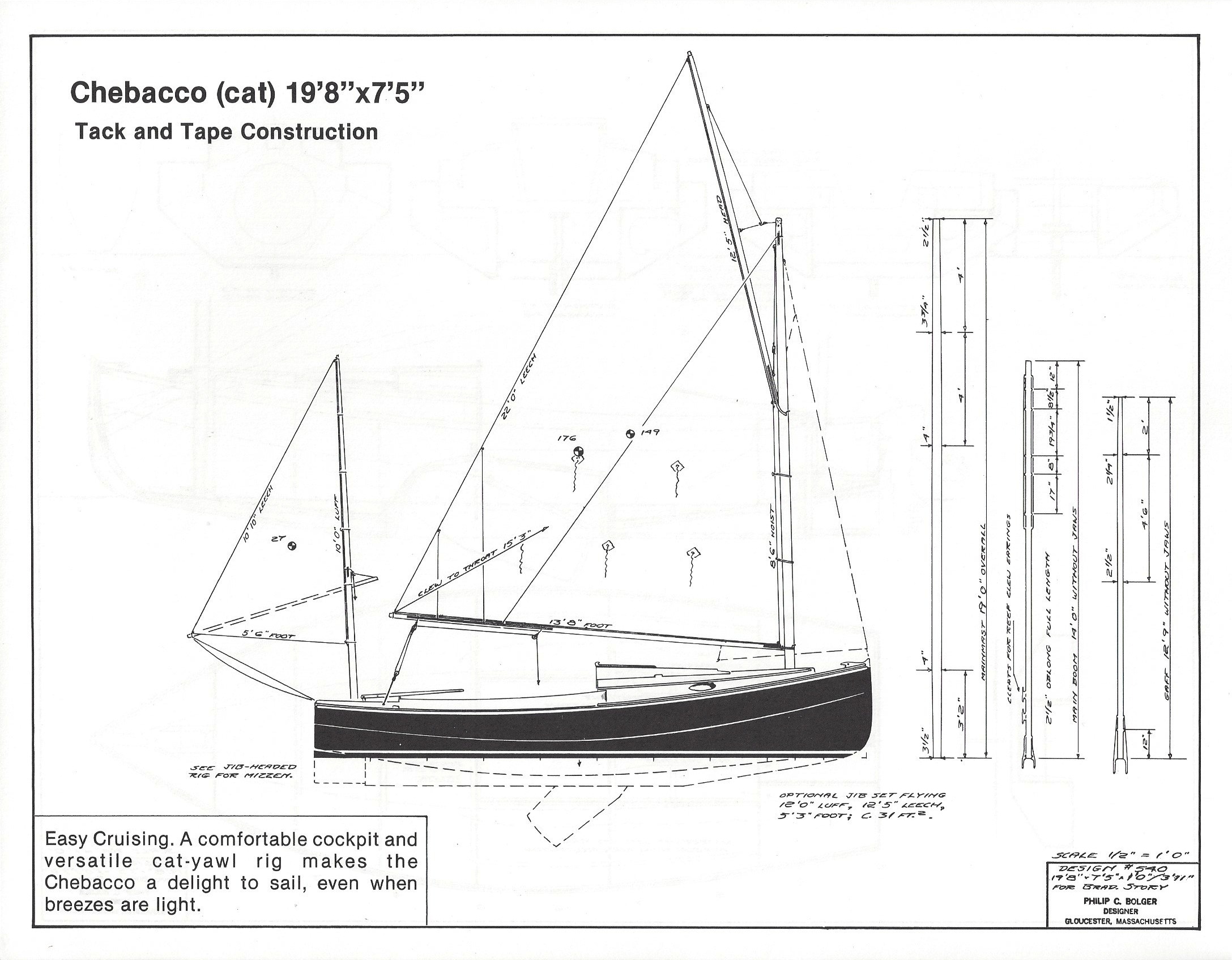 Dynamite Payson Boat Plans : Chebacco quot  h payson and company