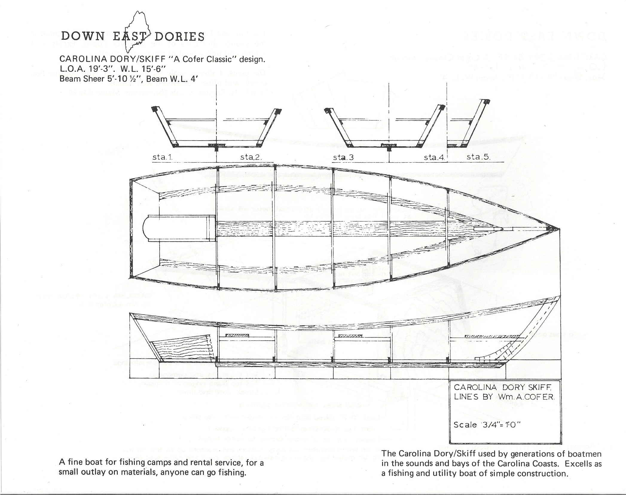 Dynamite Payson Boat Plans : Carolina dory h payson and company
