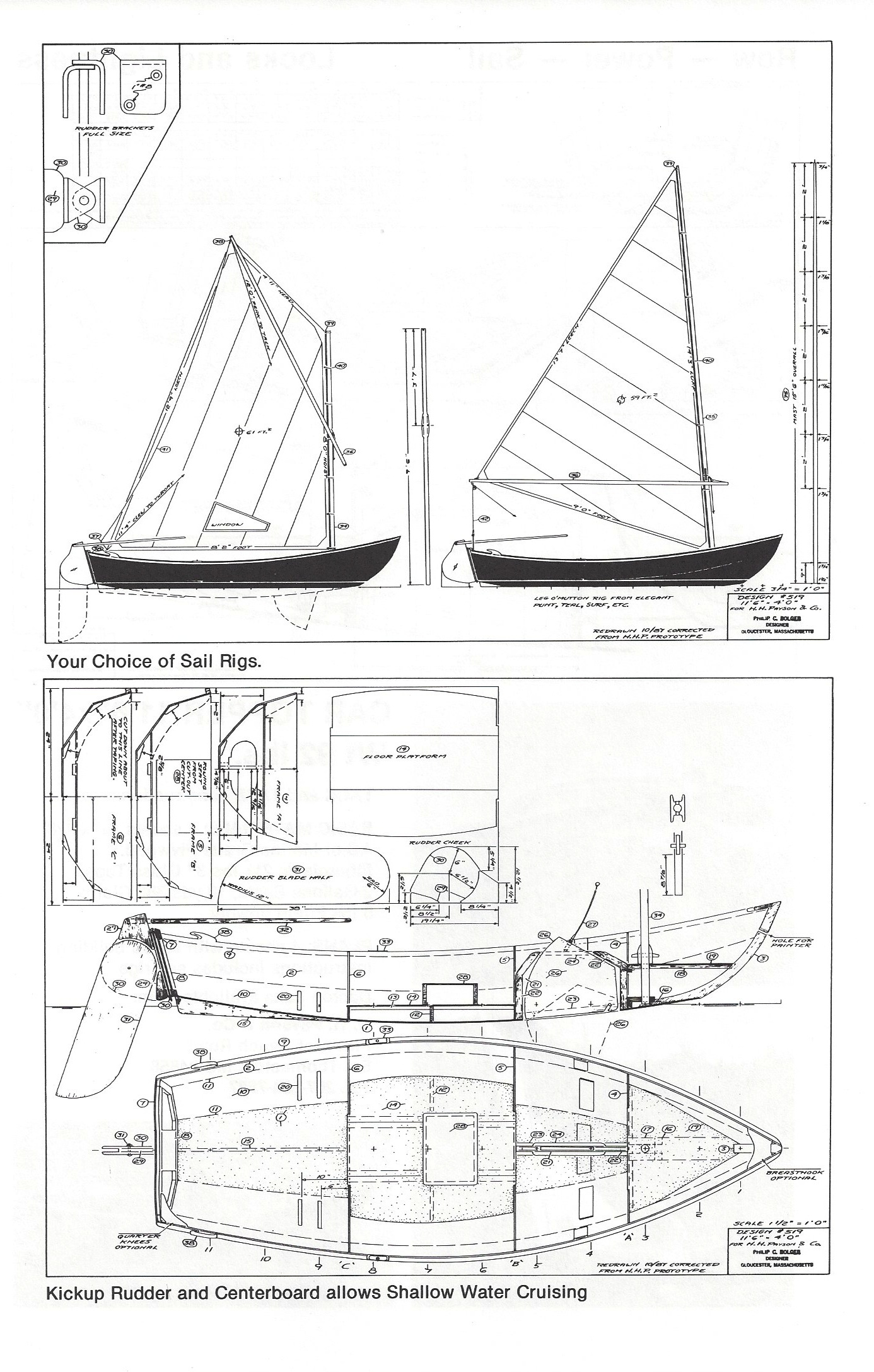 Dynamite Payson Boat Plans : Cartopper quot  h payson and company