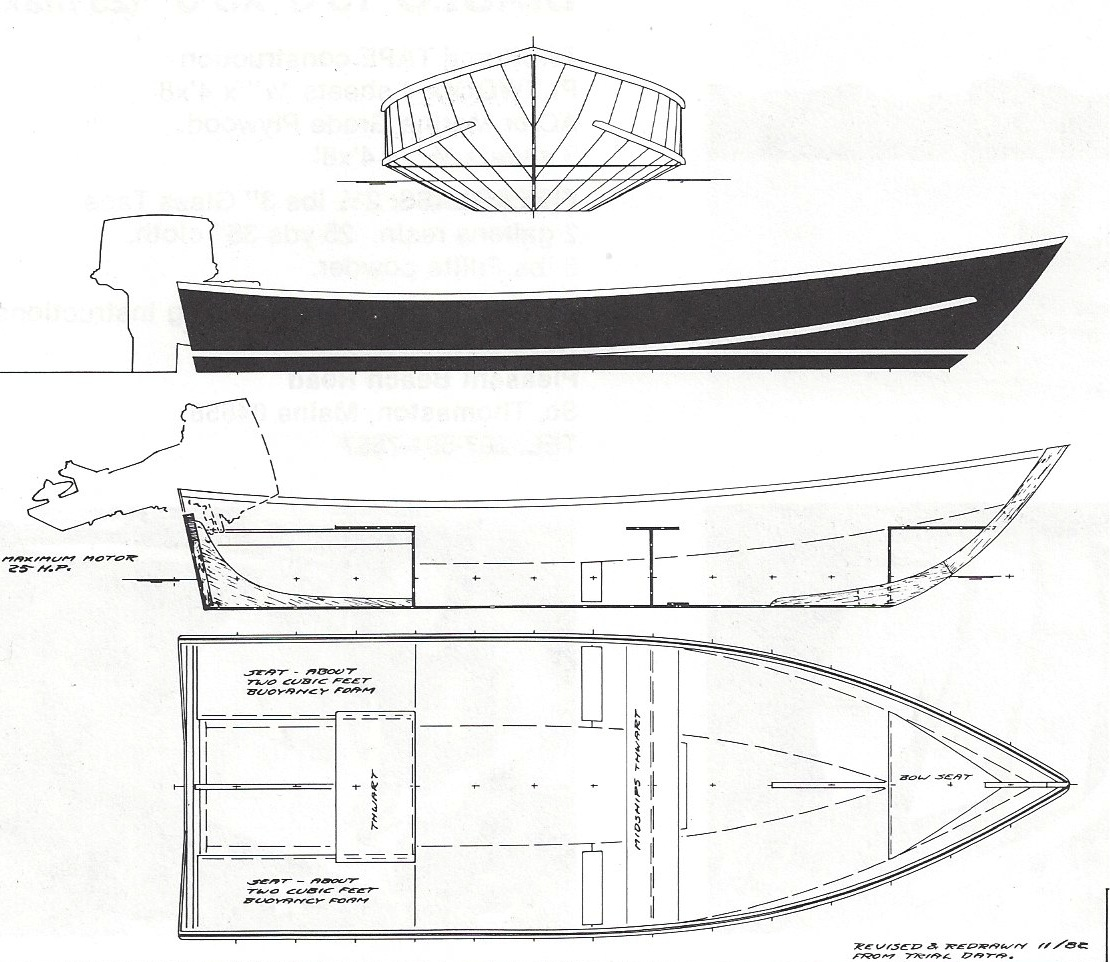 Instant Boats Phil Bolger : Diablo  quot h payson and company