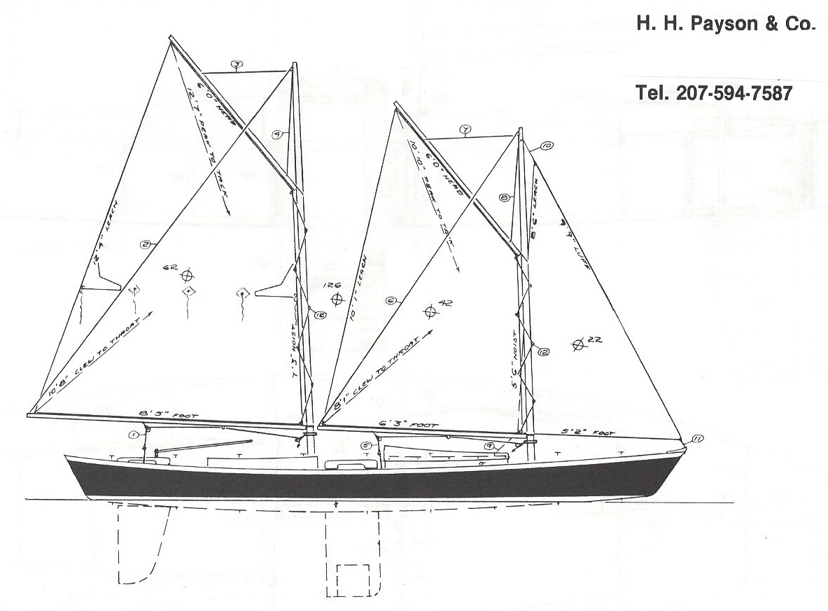 Dynamite Payson Boat Plans : Single hand schooner quot  h payson and