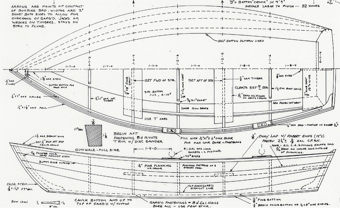 Dynamite Payson Boat Plans : Friendship skiff h payson and company