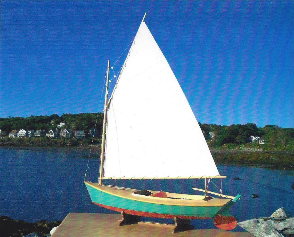 Instant Boats Teal : Timotty info build your own model sailing boat