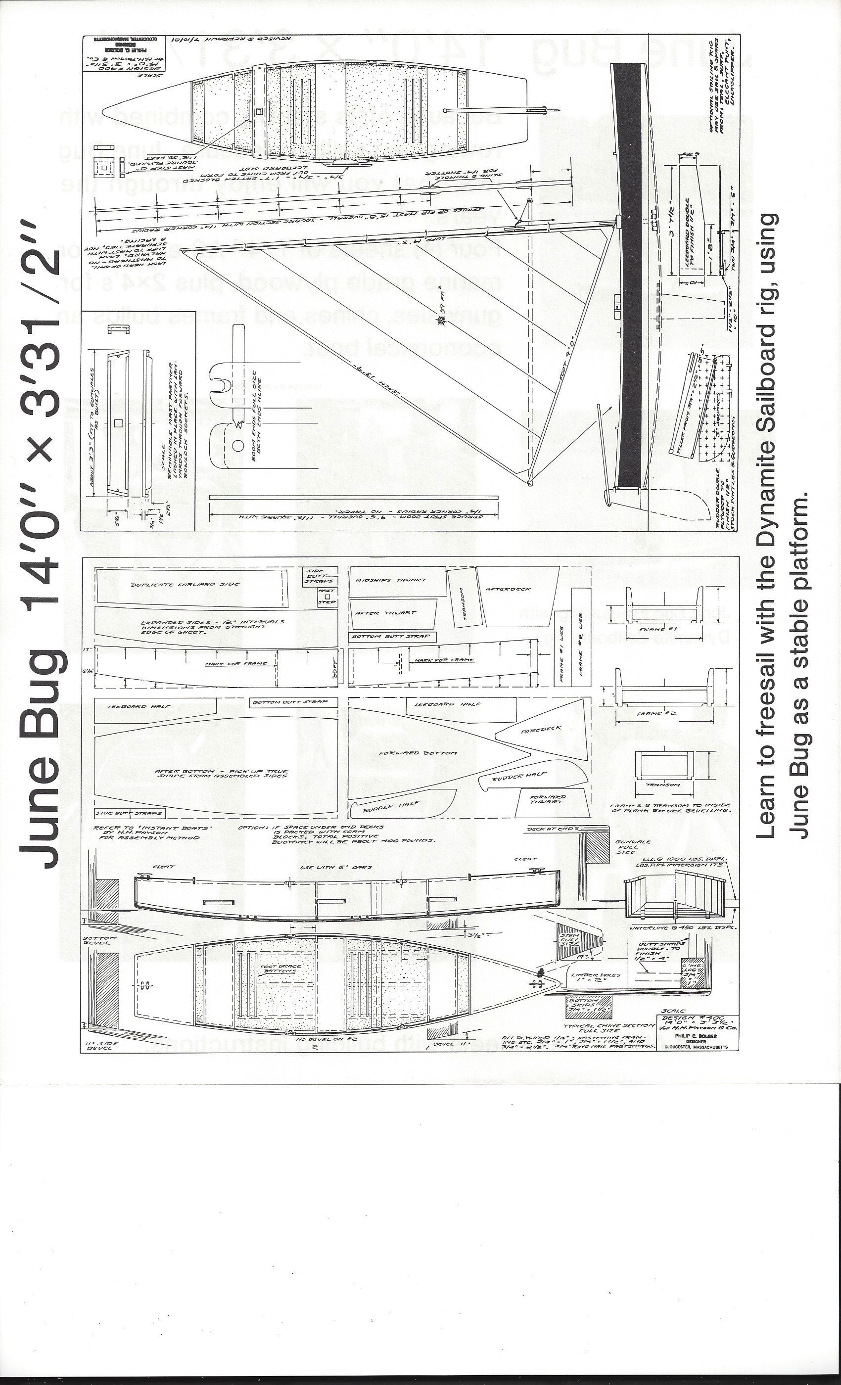 Dynamite Payson Boat Plans : June bug quot h payson and company