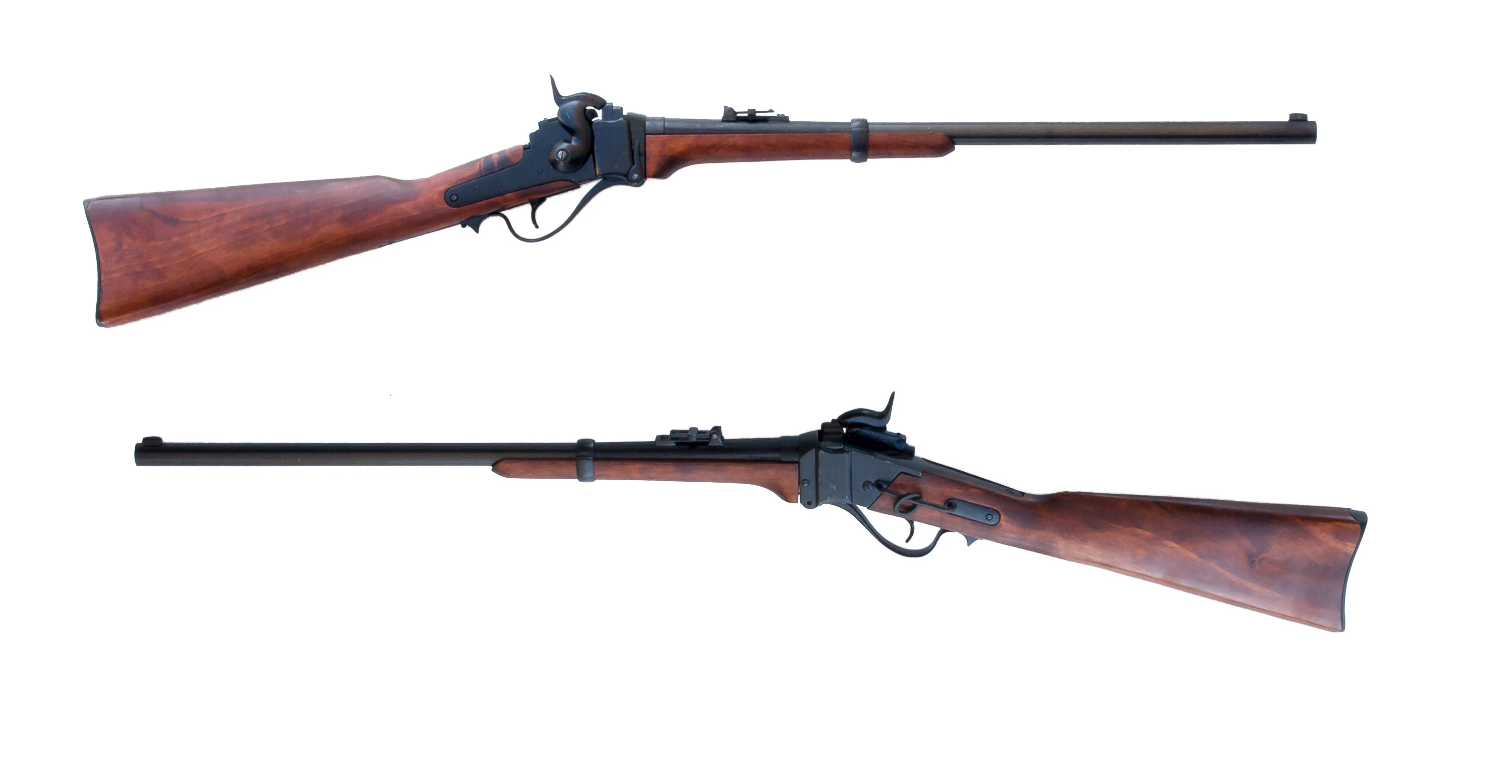 Civil War Rifle: Sharps Cavalry Carbine - The United States Replica