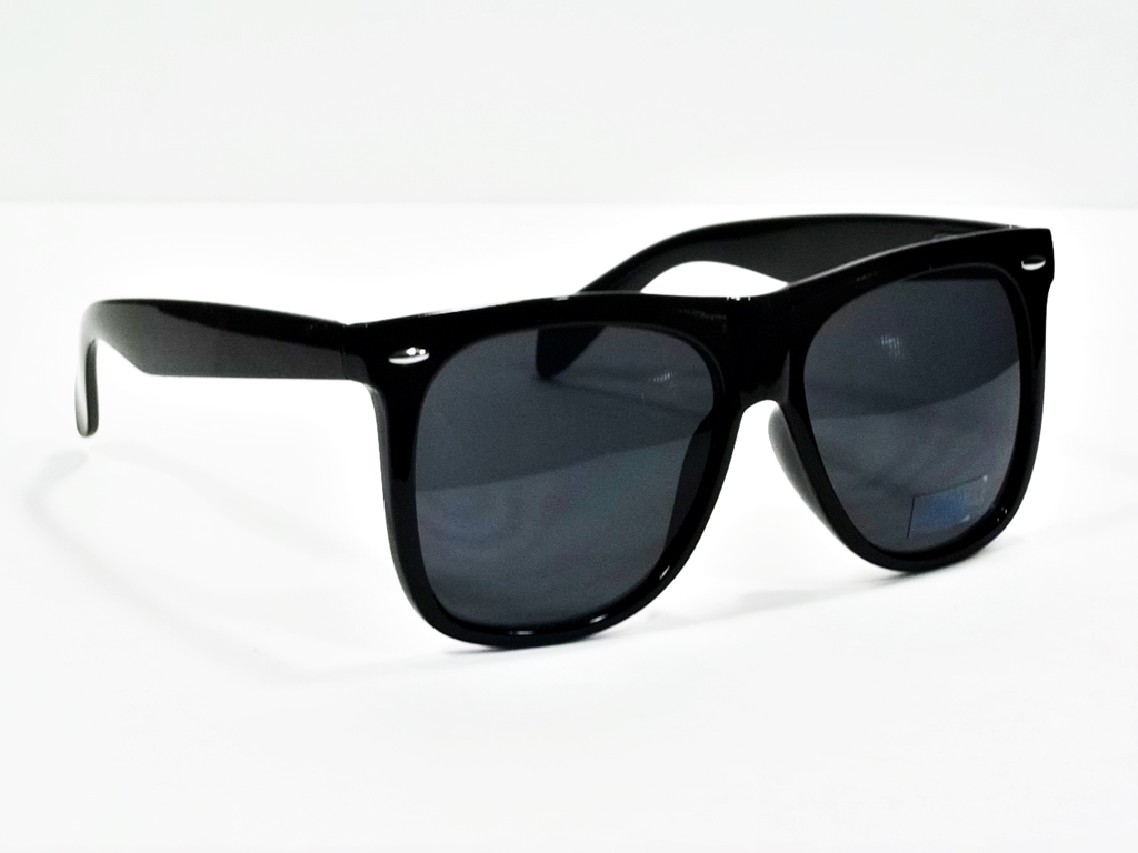 a034b4a959 Extra Large Vintage Men or Women Square Classic Black Thick Frame Style 107  ...