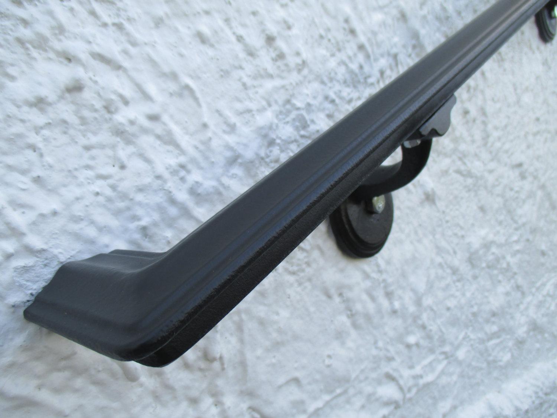 13 ft wrought iron ada wall mount hand rail modern design interior or exterior