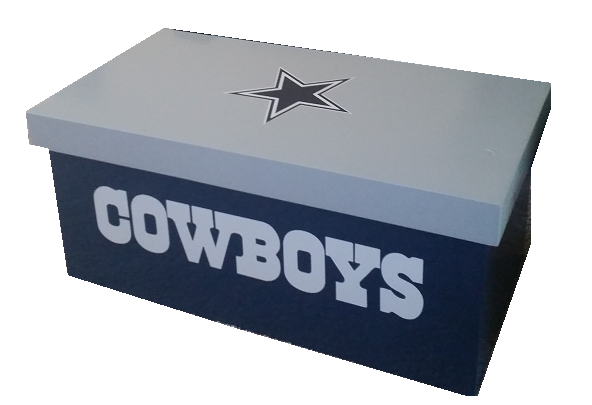 Custom Dallas Cowboy Coffee Table