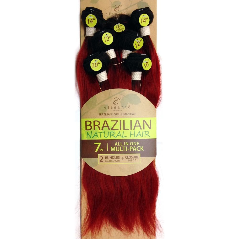 Brazilian Natural Hair 7pc All In One Multi Pack