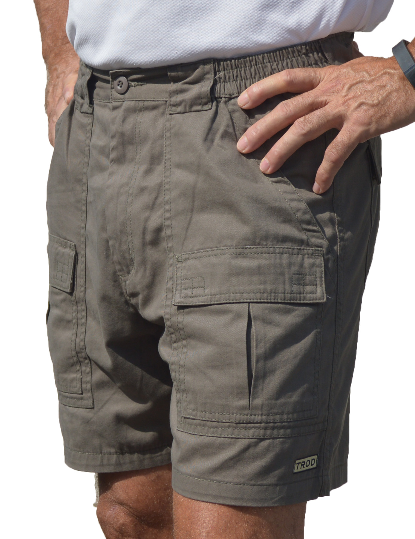 TROD Men's Cargo with 6