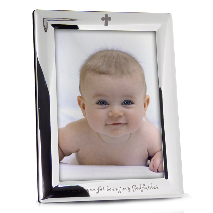 Godfather Silver Plated photo frame - Much Obliged Gifts