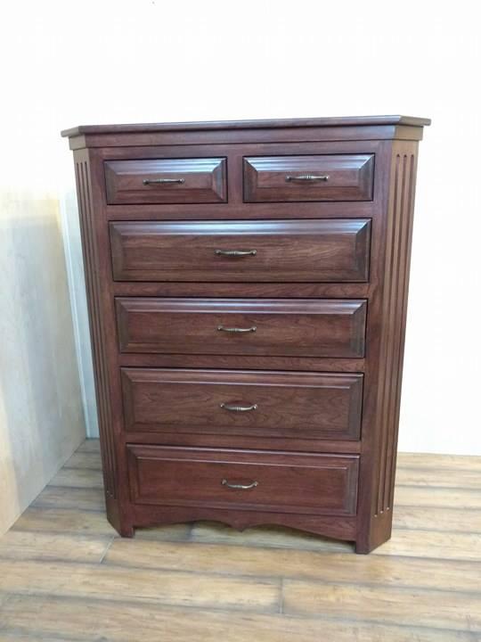 Fluted Cherry Dresser N J Concealment Furniture