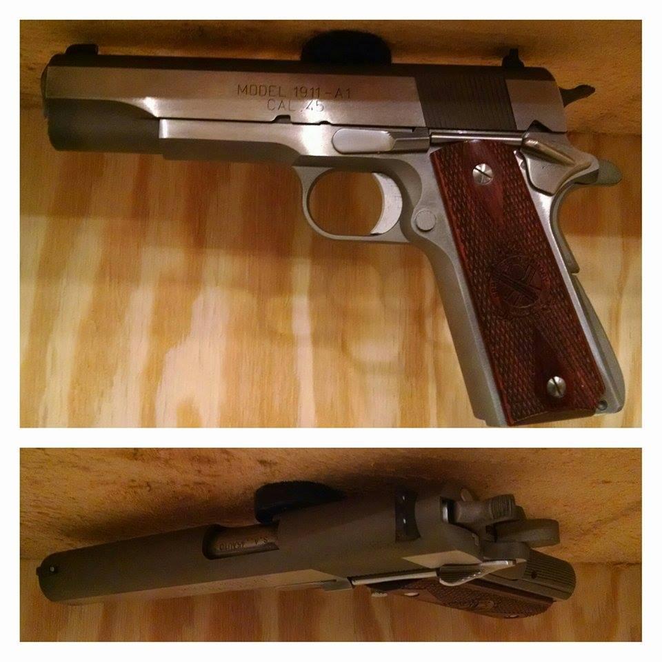Magnetic Handgun Mounts N J Concealment Furniture