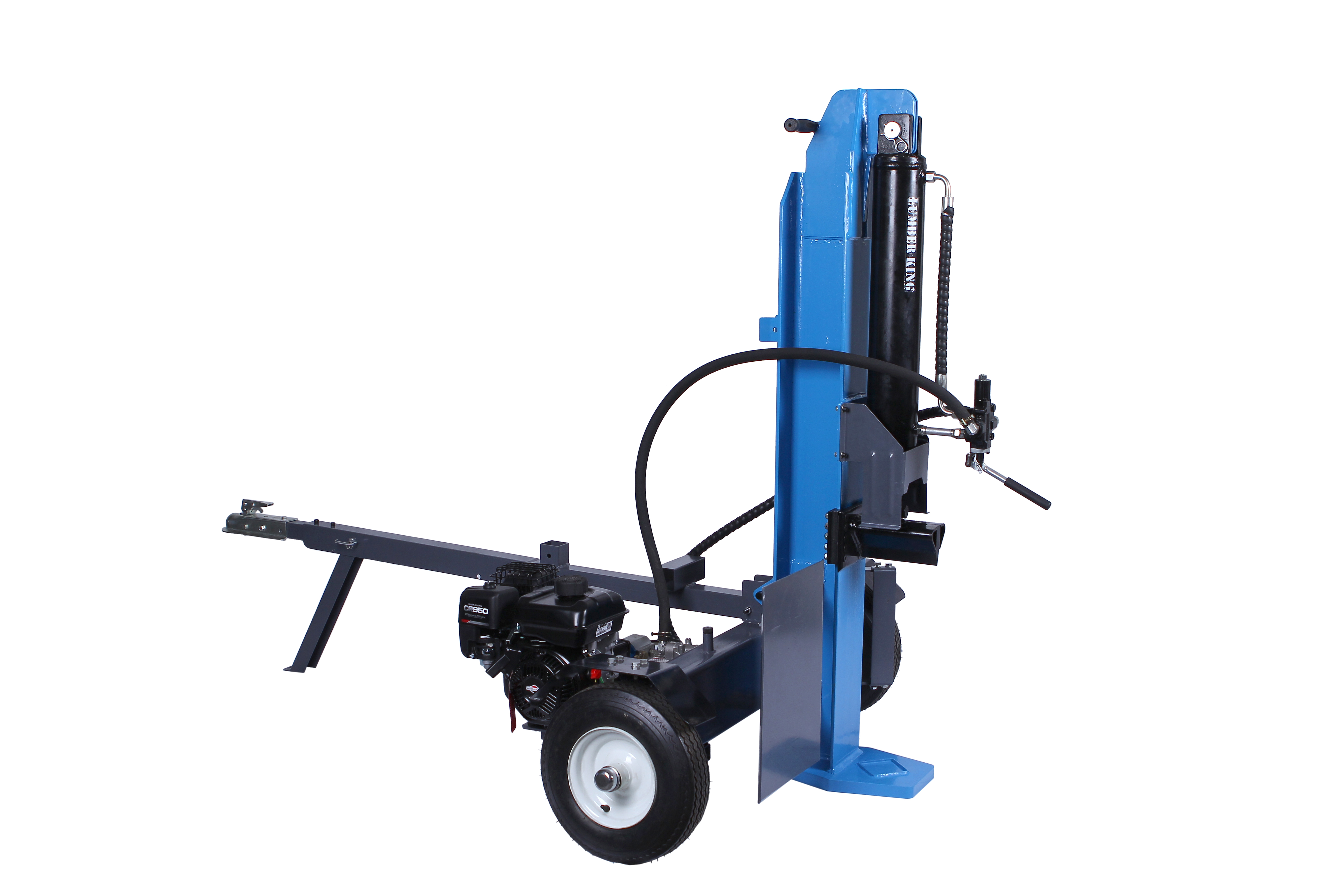 how to make a log splitter cycle faster