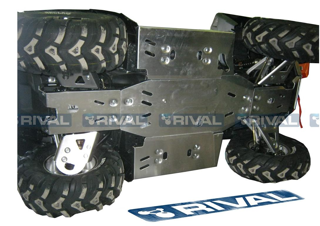 Skid plate kit for ATV CFMOTO CF625-B/C, X6/X5, CForce 600 - Auto ...