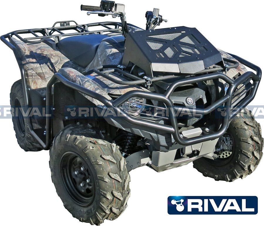 Front rear bumpers side bars set for atv yamaha grizzly 700 front bulbar for atv yamaha grizzly 700 2016 sciox Choice Image