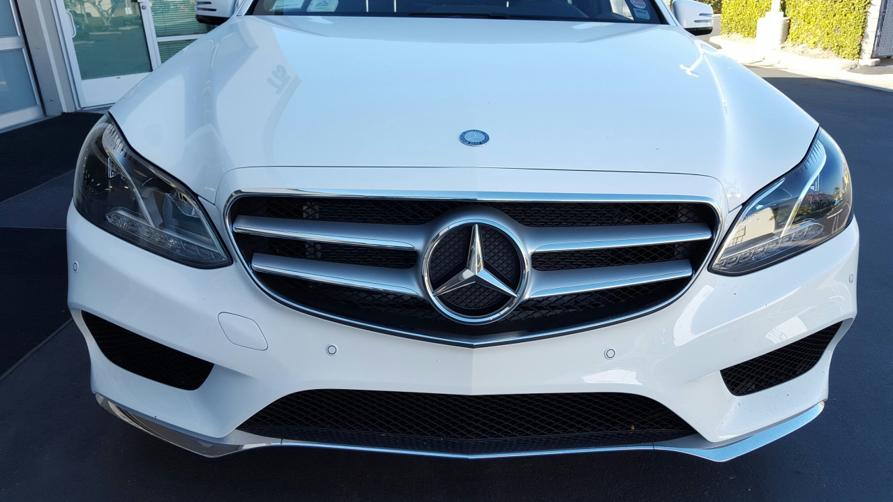 Front and rear parking sensor kit for mercedes benz for Mercedes benz parking
