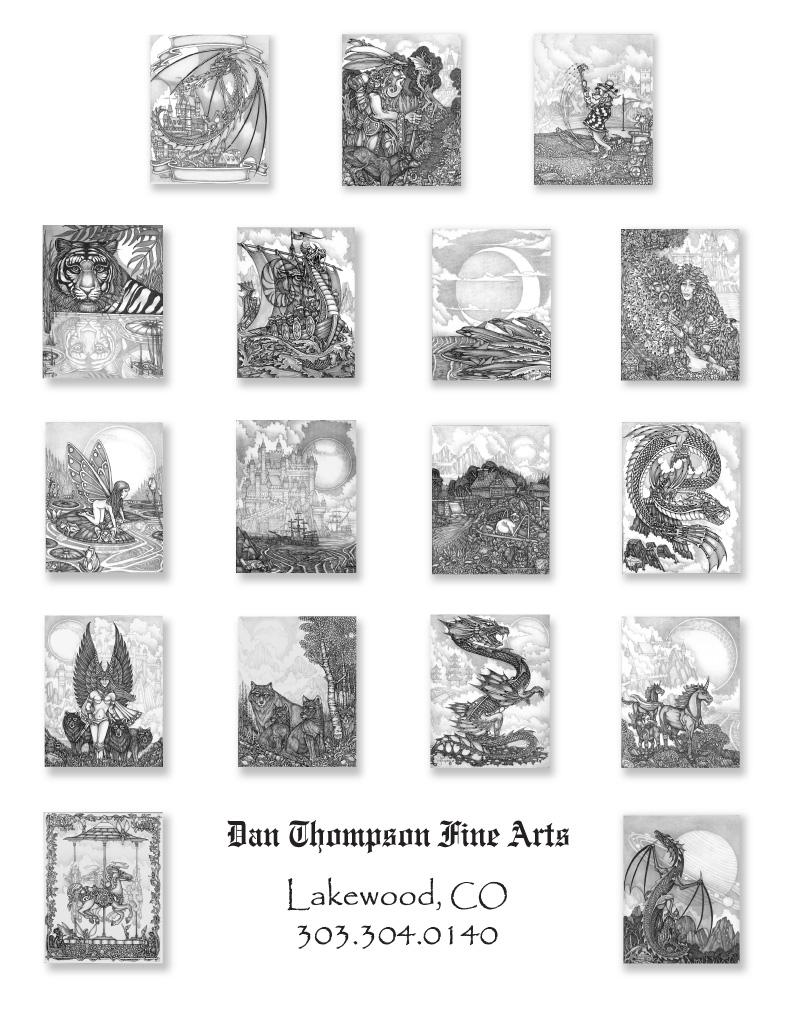 Edition #03 Coloring Book - Dan Thompson Fine Arts