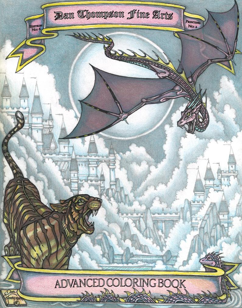 Edition #06 Coloring Book - Dan Thompson Fine Arts
