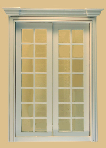 French double door white my doll 39 s house for White double french doors
