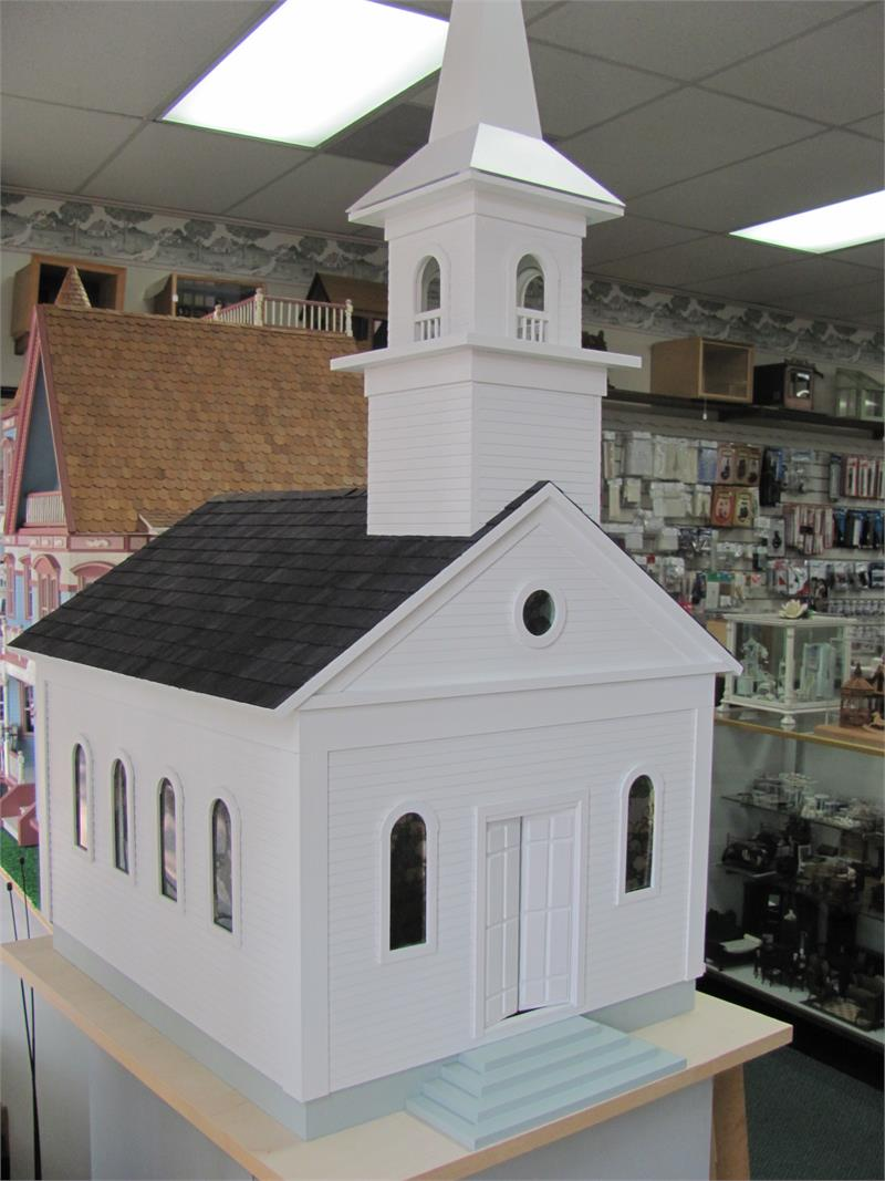 Country Church Dollhouse My Doll S House