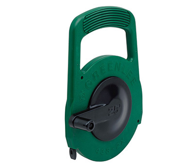 Greenlee steel fish tape 1 4 x25 39 dish depot for Fish tape home depot