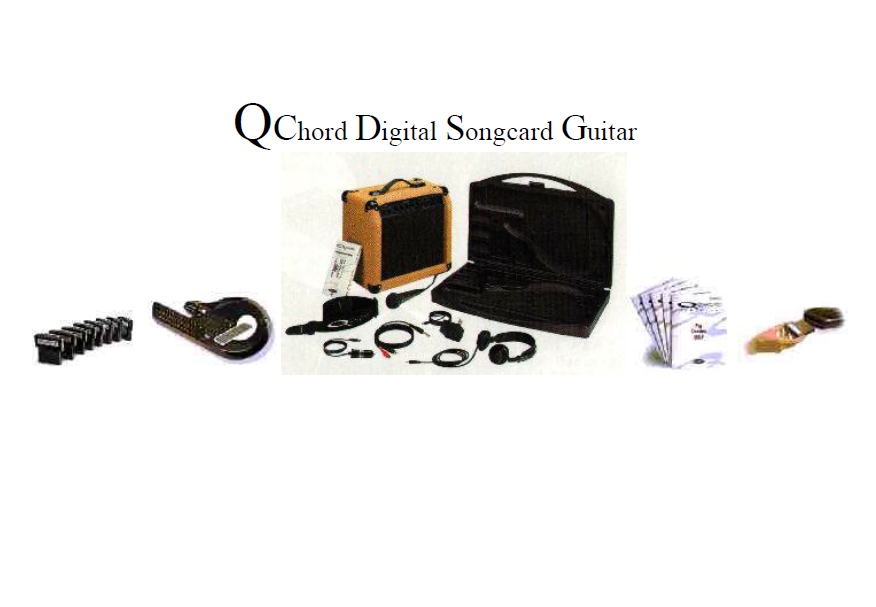 Amazing Qchord Digital Song Card Guitar New Creation Health