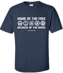 """Home of the Free"" T-Shirt"