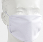 Face Mask Adult - White