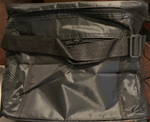 Black Thermal Insulated Food Bag