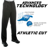 "Smitty MEN'S Premium 4-Way Stretch ""ATHLETIC CUT"" Pants"