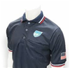 "FHSAA Logo ""Navy"" Baseball Short-Sleeve Umpire Shirt"