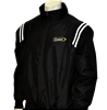 LHSOA Major League Style Black Baseball Jacket w/ White Trim