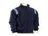 Smitty Thermal Full Zip Umpire Navy Blue Jacket w/ White/Navy/ Powder Blue Trim