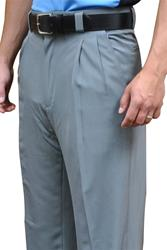 Smitty Performance Poly Spandex Heather Gray Umpire Combo Pants