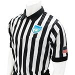 "FHSAA Embroidered Logo 1"" Stripe Football and Lacrosse Shirt"