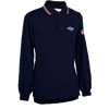 GHSA Logo Dye Sublimated Navy Blue Baseball Long Sleeve Shirt