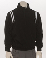 Smitty Thermal Full Zip Umpire Black Jacket w/Black/White/Black Inset